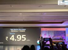 Renault Triber launched at INR 4.95 Lakh