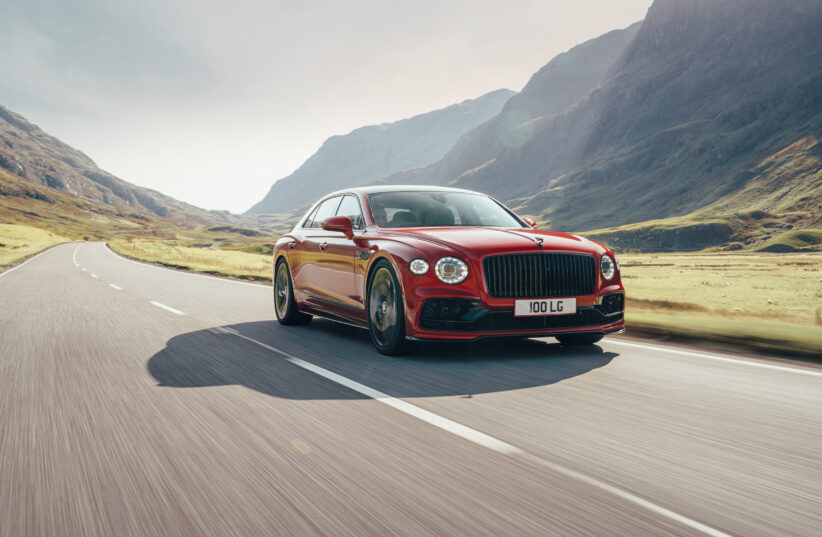 Bentley Flying Spur V8 Launched
