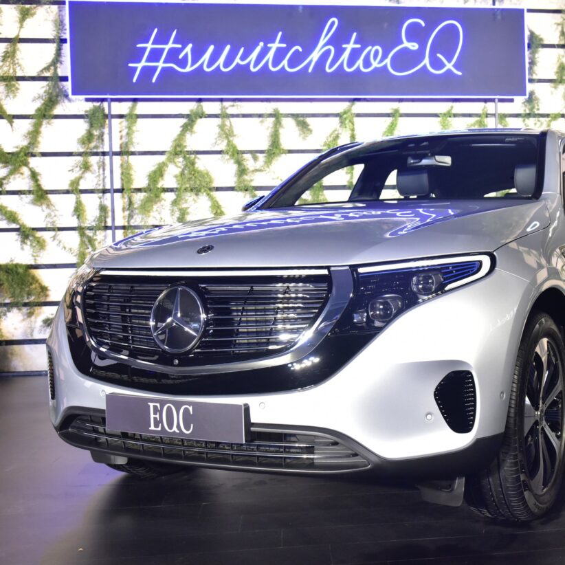 Mercedes-Benz EQC Launched, Fully-Electric Luxury SUV