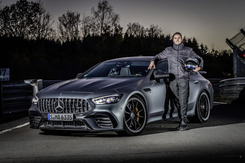 Mercedes-AMG  GT 63 S 4MATIC+ Is the fastest at Nordschleife