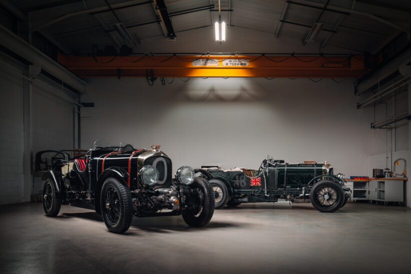 Bentley Blower reborn after 90 years
