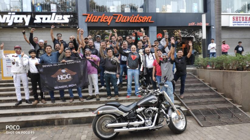 Harley Owners Group conducts dark rides to support Harley Davidson Dealers cause