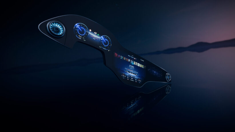 Mercedes-Benz MBUX Hyperscreen to debut on EQS