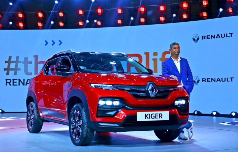 Renault Kiger makes its debut in India